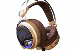 Tai nghe Over-ear SoundMAX AH 318 (Nâu)