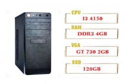 PC QA Gaming 01 Intel Core I3 4150 GT 730 DR5 Ram 4GB 120GB SSD