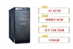 PC QA Gaming 02 Intel Core i5 4570 & GT 730 2GB Ram 4GB 120GB SSD
