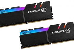 RAM TẢN NHIỆT DDR4 LED RGB – Trident Z RGB  – F4-3600C16D-16GTZNC
