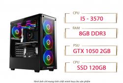 PC QA Gaming 09 Intel Core i5 3570 GTX 1050 2GB 2GB Ram 8GB 120GB SSD